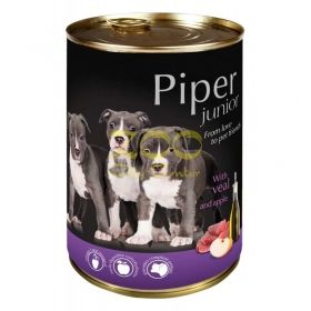 Piper Junior pet food with veal and apple - с телешко и ябълки, за малки кученца 400 грама